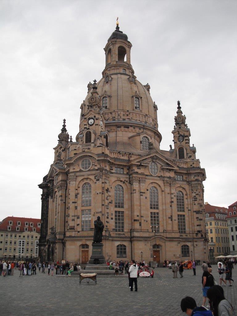 Frauenkirche in Dresden, August 2013