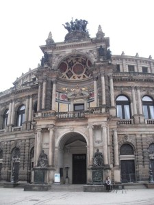 Haupteingang der Semperoper, Dresden