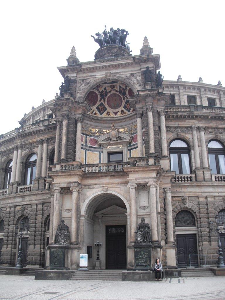 Dresdner Semperoper in Zahlen