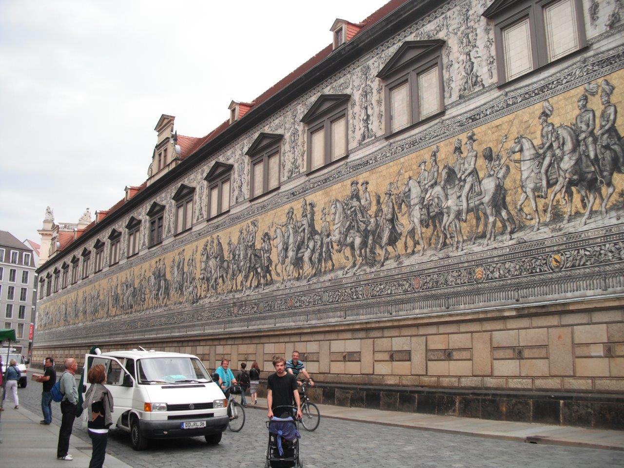Stallhof und Fürstenzug in Zahlen