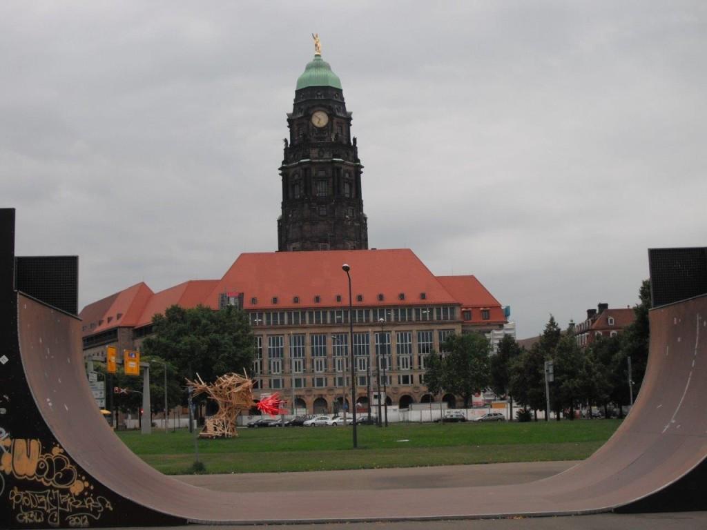 Neues Rathaus, Dresden
