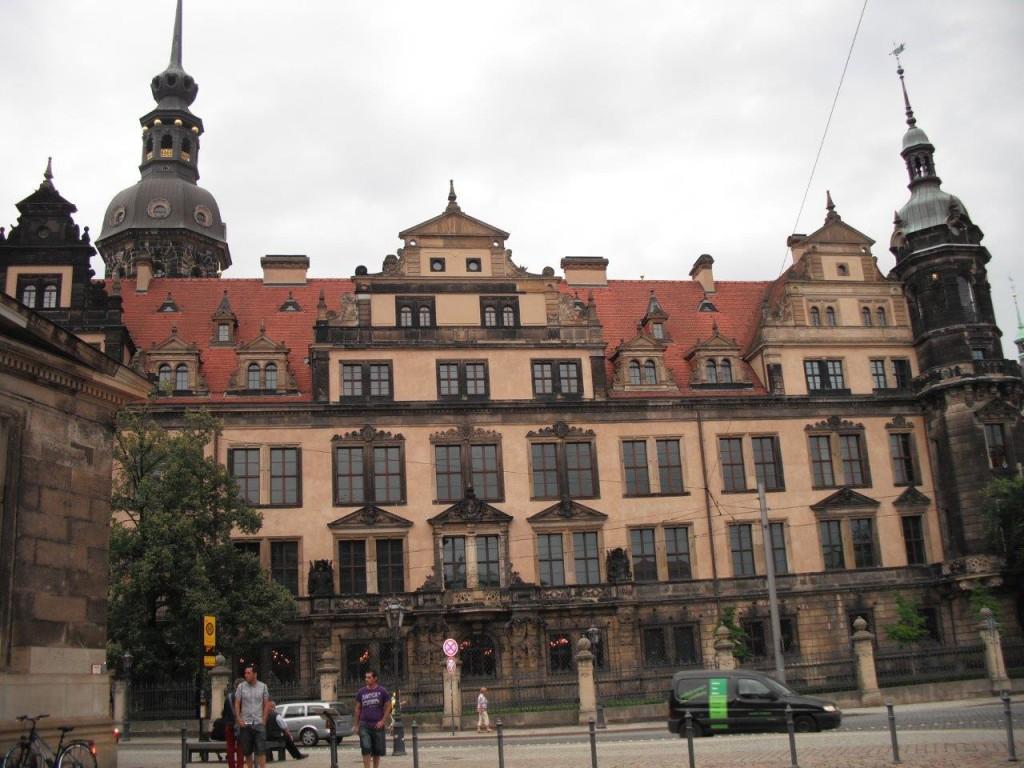 Residenzschloss Dresden, August 2013