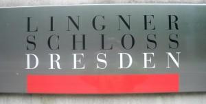 Tafel am Lingnerschloss, Dresden