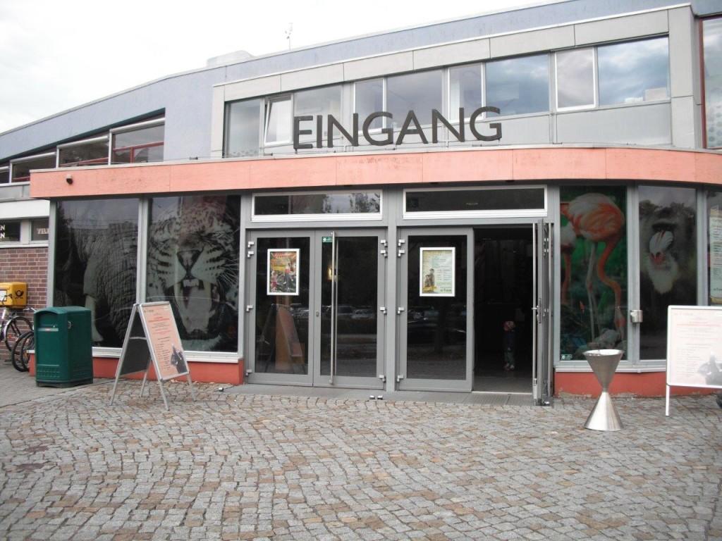 Zoo Dresden, Eingang
