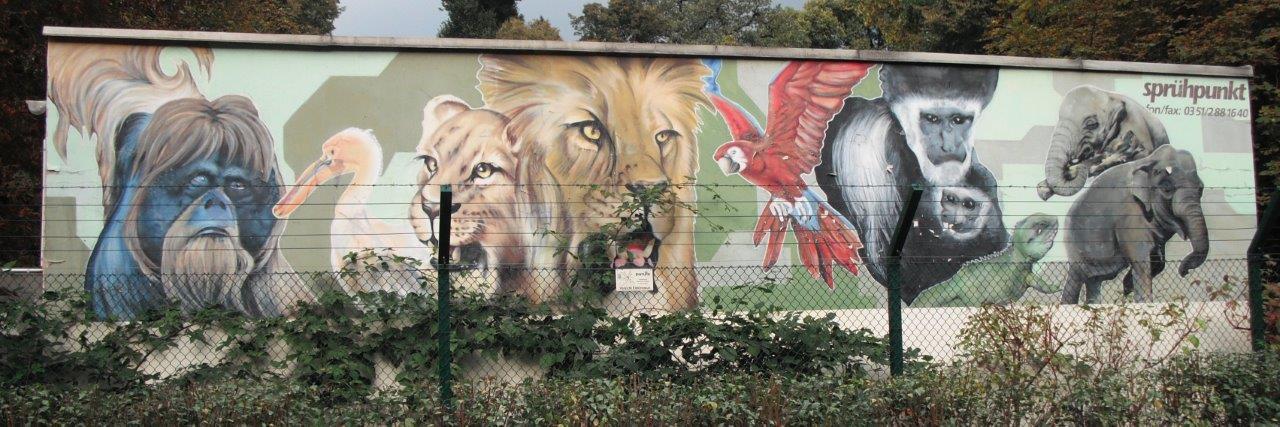 """""""Sprühpunkt"""" am Zoo Dresden"""