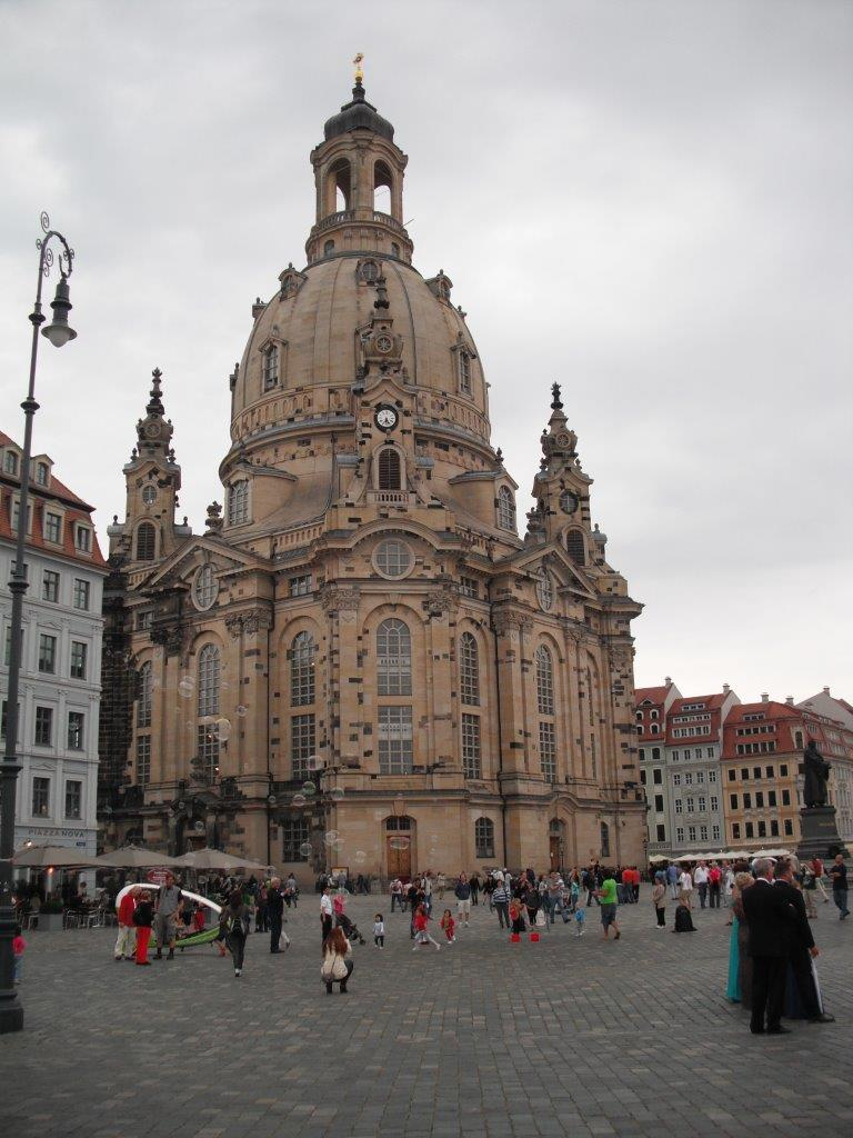 Frauenkirche in Dresden, August 2013
