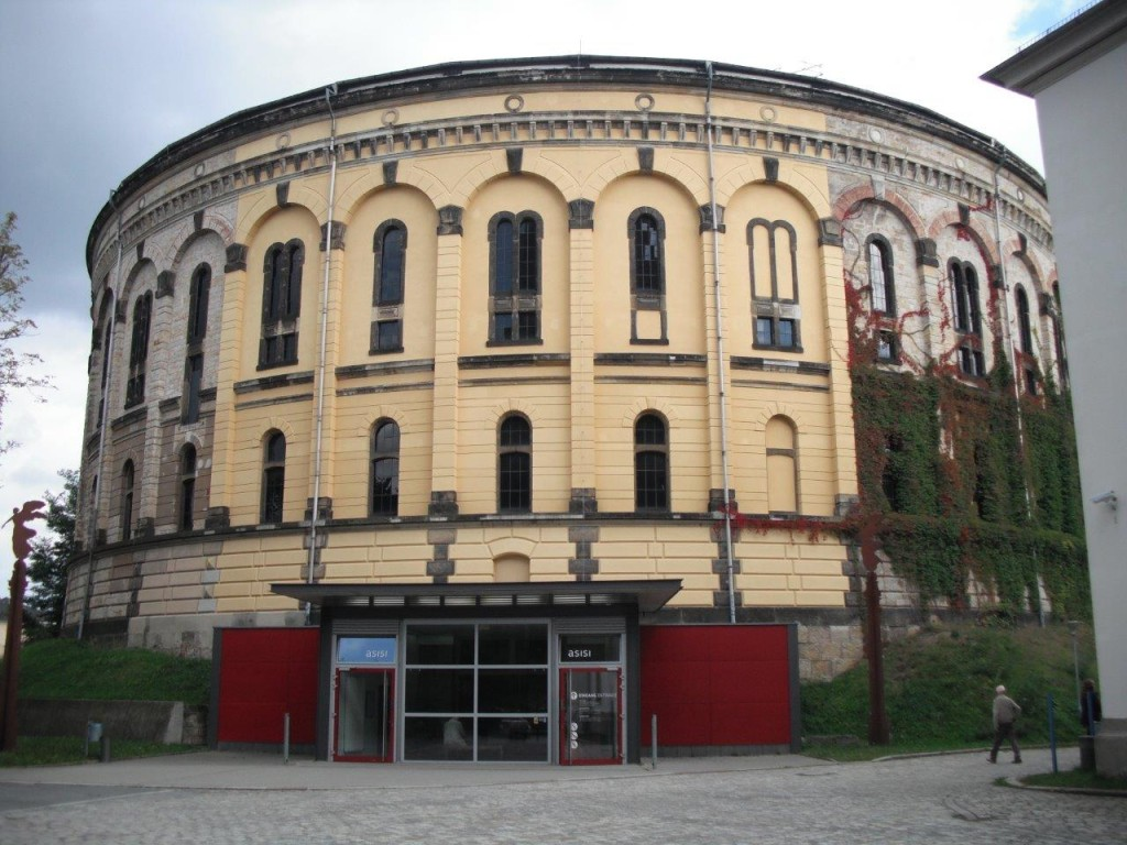 Eingang Asisi-Panometer Dresden