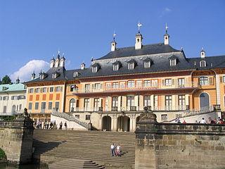 Schloss Pillnitz in Zahlen