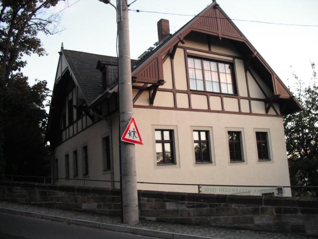 Joseph-Hegenbarth-Archiv, Ansicht Calberlastraße, Loschwitz / Dresden