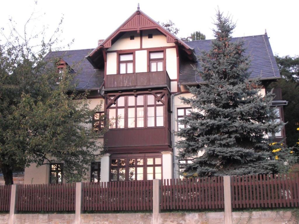 Joseph-Hegenbarth-Archiv, Ansicht von der Pillnitzer Landstraße, Loschwitz / Dresden