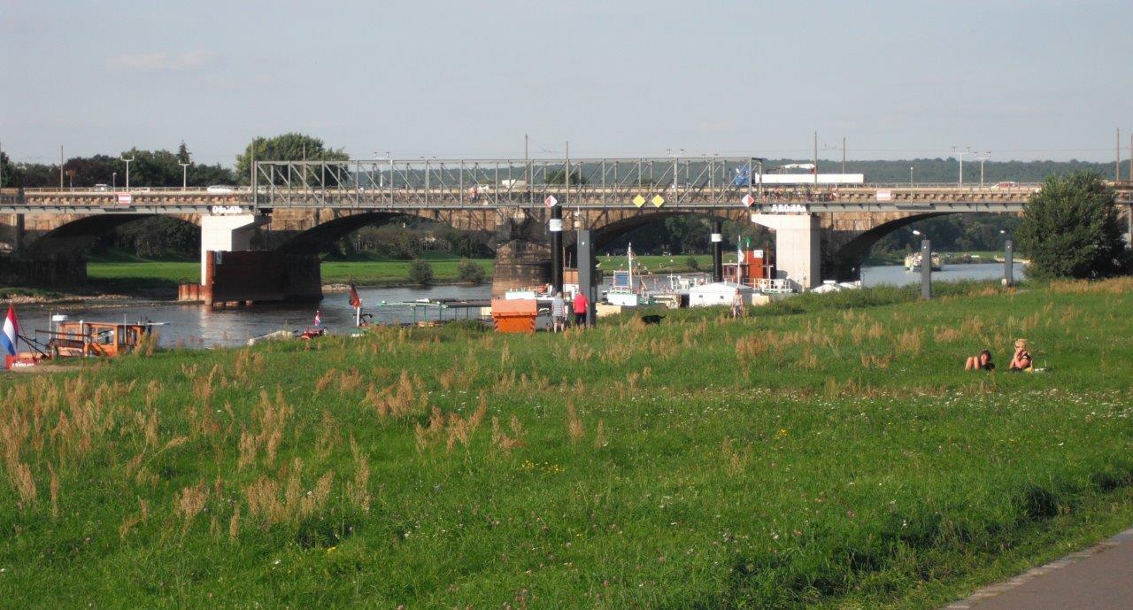 Sanierung der Albertbrücke