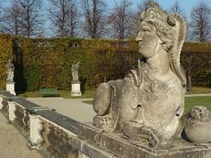 Sphinx, Barockgarten Großsedlitz bei Dresden