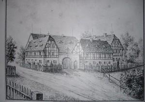 Zeichnung im Palitzsch-Museum