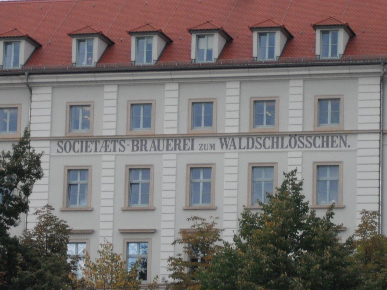 Societaets-Brauerei zum Waldschlösschen
