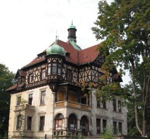 Der Heinrichshof, ehemaliges Wohnhaus Heinrich Lahmanns
