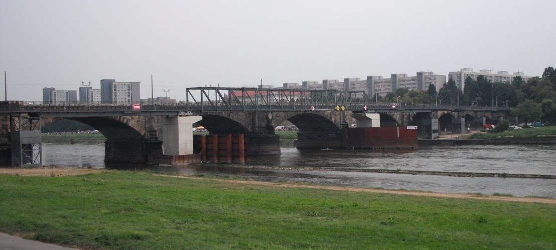 Albertbrücke, Dresden