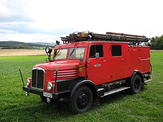 Löschgruppenfahrzeug LF 15 (Bj. 1954)