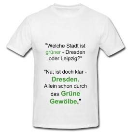 Grüne Stadt: Dresden vs. Leipzig
