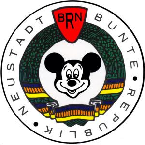 Logo der Bunten Republik Neustadt, 1995