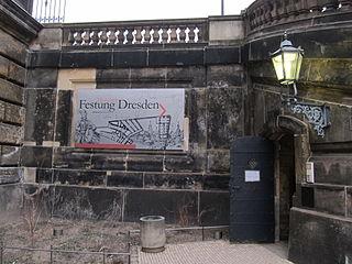 Kasematten, Georg-Treu-Platz, Festung Dresden