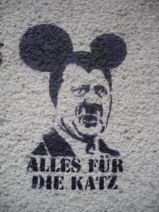 """Graffiti in der Dresdner Neustadt: """"Alles für die Katz"""""""