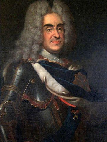 August der Starke, Portrait auf Burg Stolpen