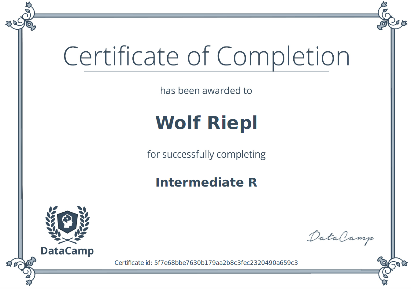 Intermediate R / Weiterführender R-Kurs