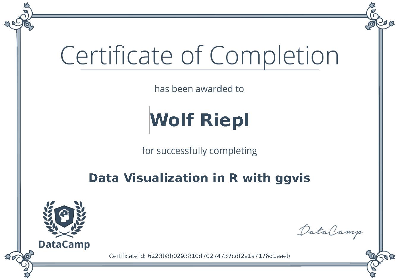 R-Zertifizierung: ggvis
