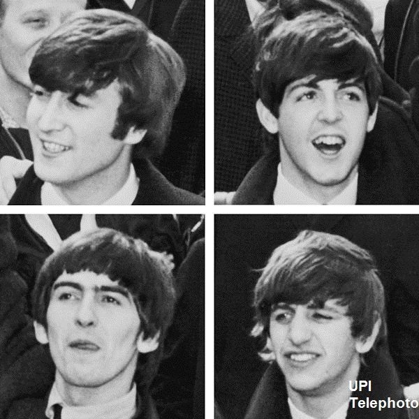 The Beatles: UPI Telephoto